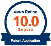 AVVO 10 rating Patent Application Attorney